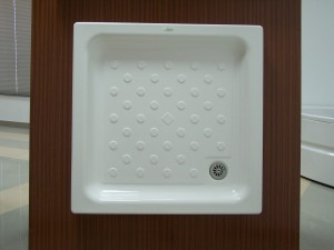 platos de ducha poliéster